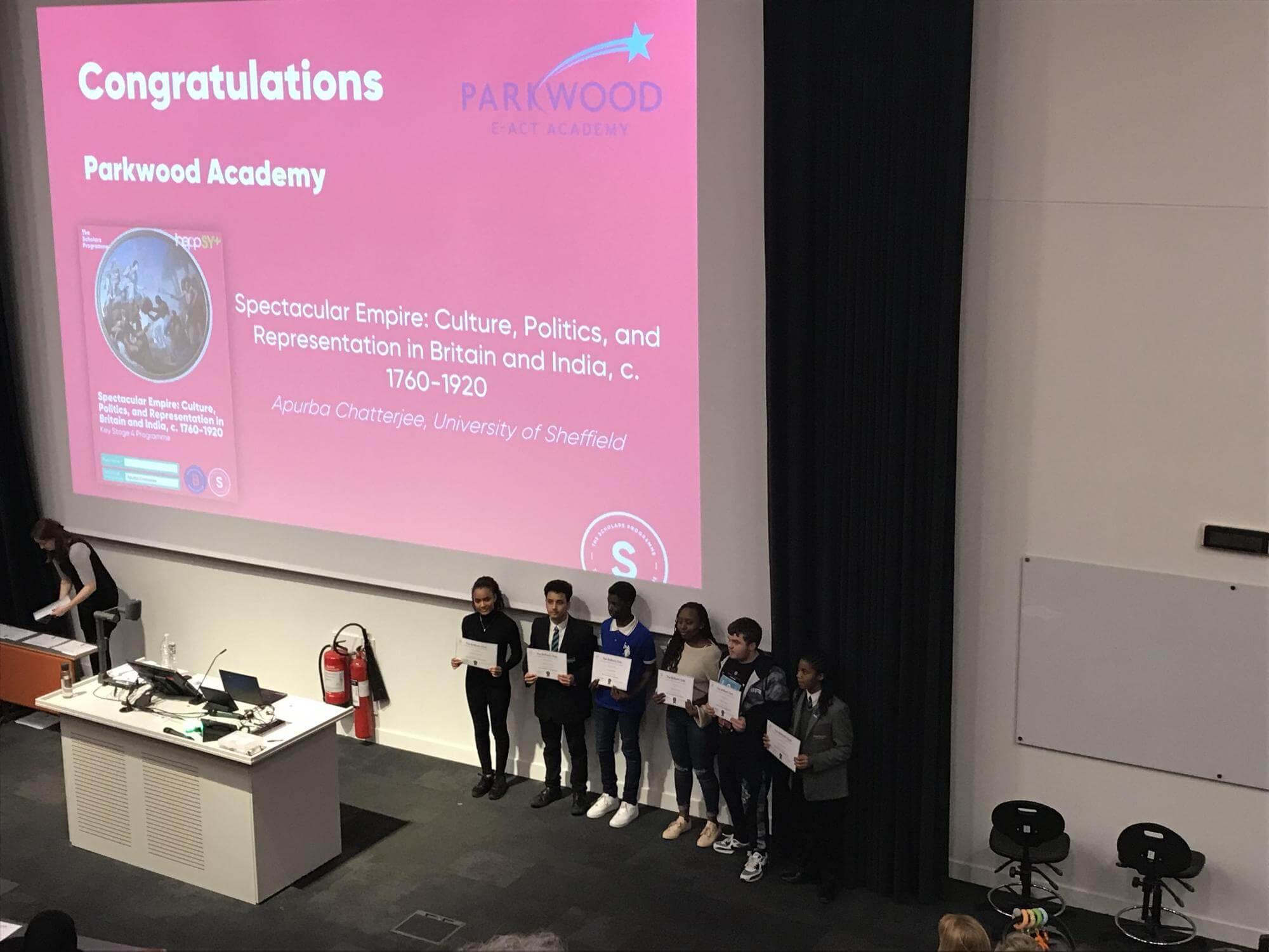 The Brilliant Club - Parkwood Academy